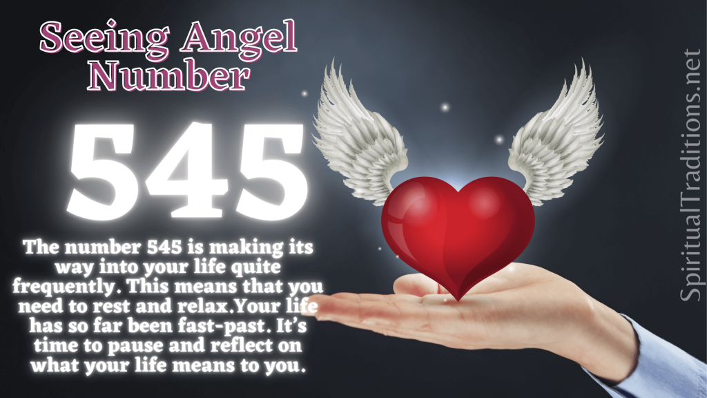 numerology number 545