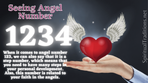 Angel number 1234