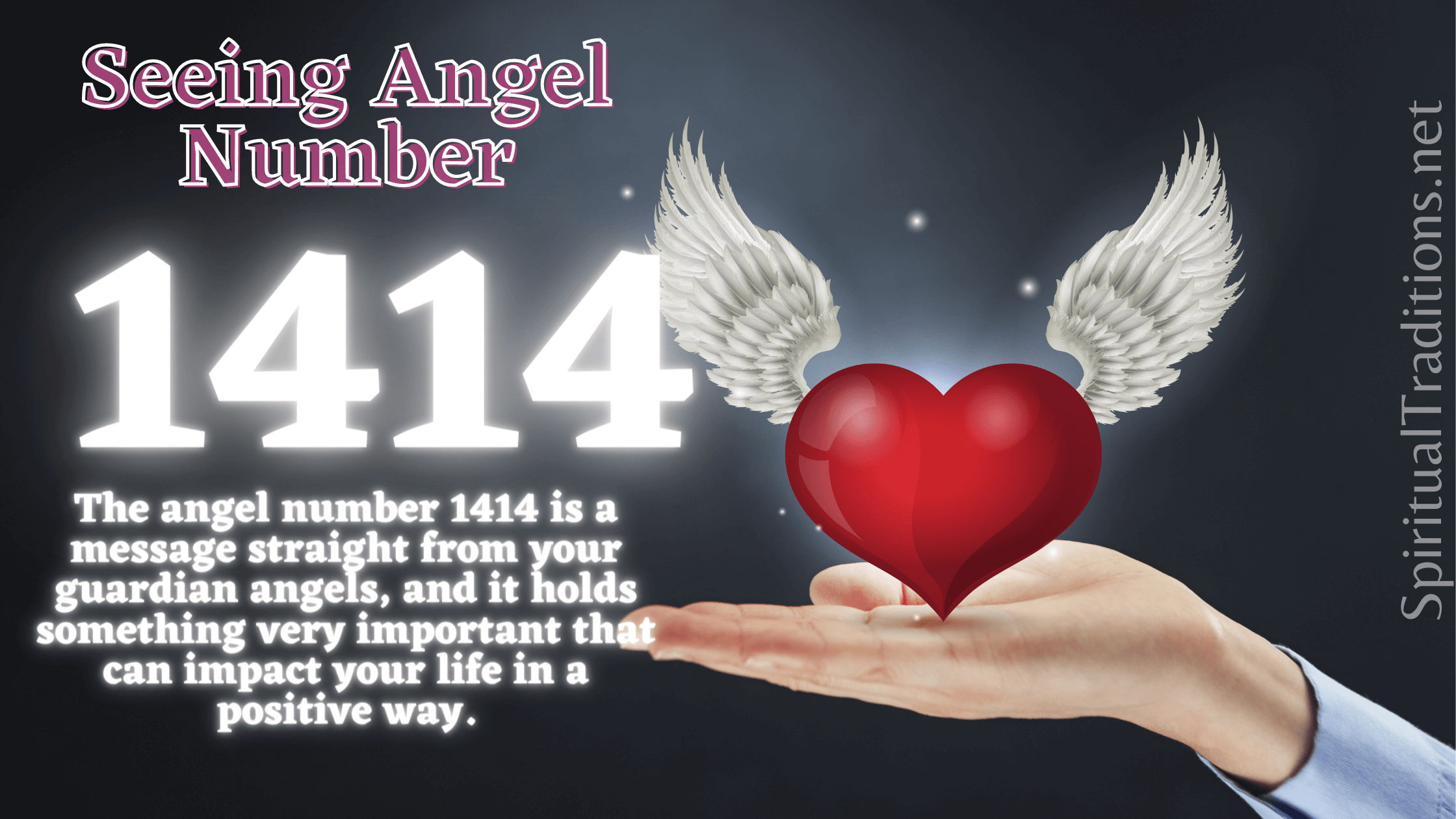 Angel number 1414 Meaning