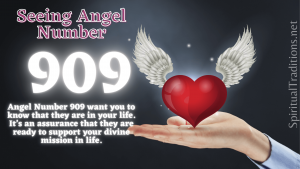 909 Angel Number Meanings