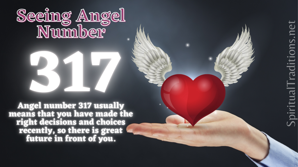 numerology 317 meaning